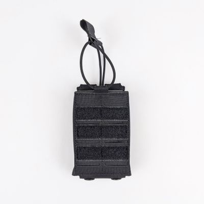 PRELabs-Pouch-SingleCarbineSTAC-Black-Front Single Carbine Mag STAC™ Pouch PRE Labs Inc.