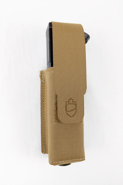 PRELabs-Pouch-SinglePistolMag-Front-Full-Web Single Pistol Mag Pouch PRE Labs Inc.