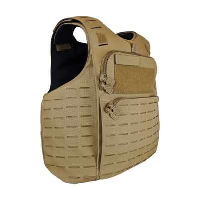 PRELabs-Amaruq-Coyote-SideAngle-Clean Amaruq™ Tactical Armour System PRE Labs Inc.